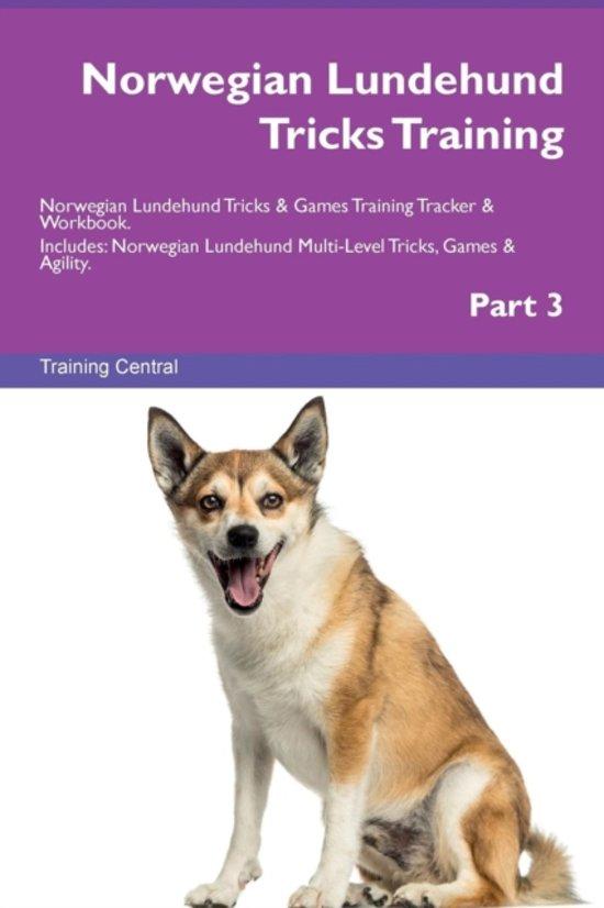 Norwegian Lundehund Tricks Training Norwegian Lundehund Tricks & Games Training Tracker & Workbook. Includes