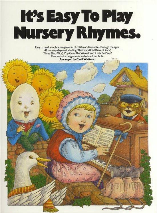 It S Easy To Play Nursery Rhymes