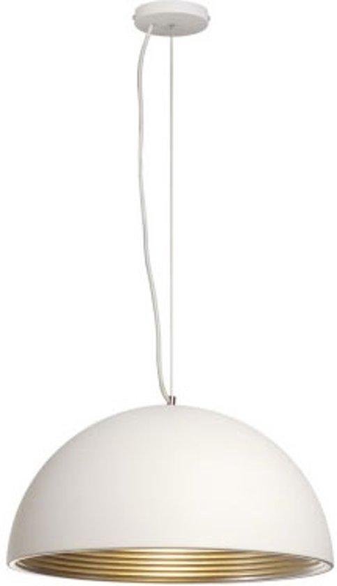 SLV Forchini - Hanglamp - 50 cm - Wit/Zilver