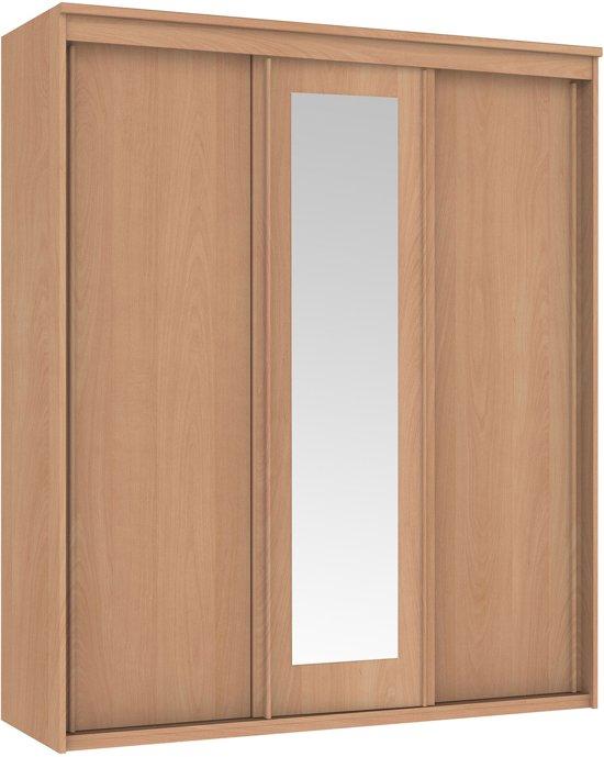 Wonderbaarlijk bol.com | True Furniture New Hallingford 03SR - Kledingkast - Beuken XE-19