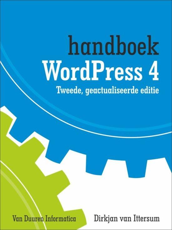 Handboek Wordpress 4 tweede editie