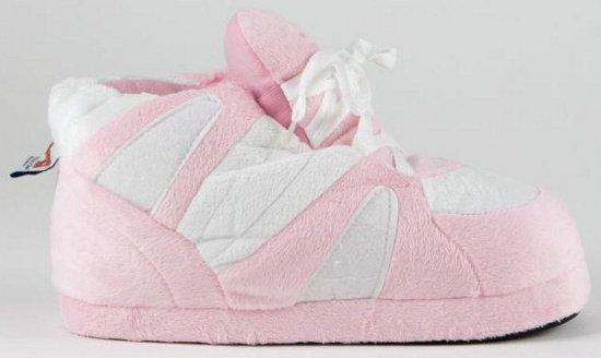 """""""Sneaker sloffen dames roze/wit M (37-38,5)"""""""
