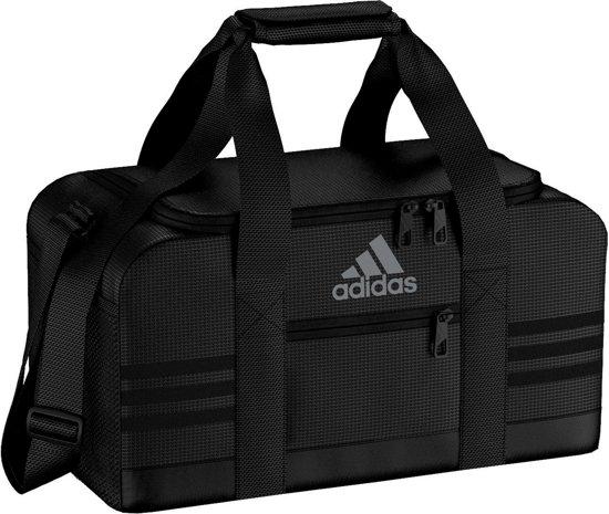 1adf5cf662e bol.com | adidas 3-Stripes Team Bag XS - Sporttas - Unisex - XS - Black