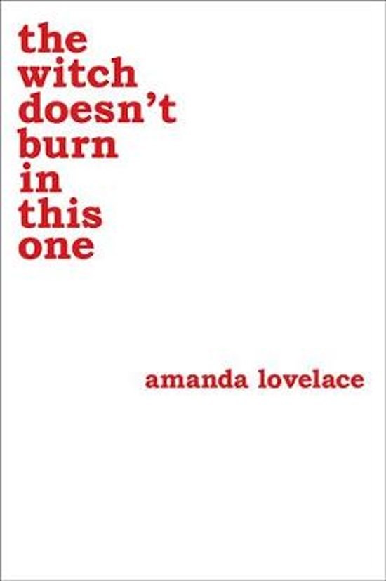 Boek cover Witch doesnt burn in this one van Amanda Lovelace (Paperback)