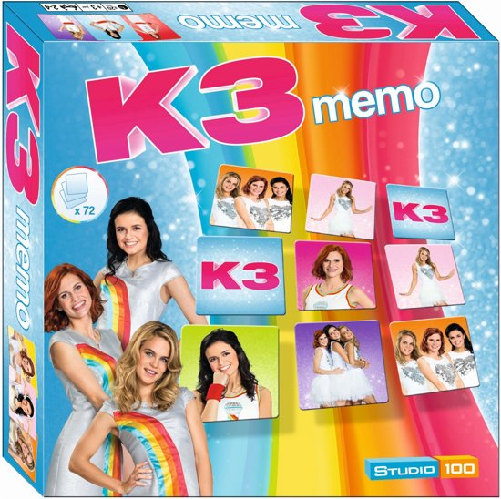 Afbeelding van het spel Studio 100 Memory K3