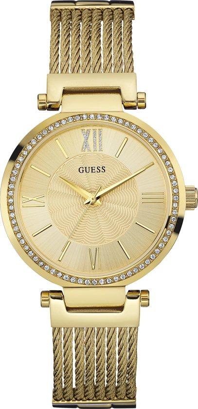 GUESS Watches W0638L2 Soho Horloge 36.5 mm Goudkleurig