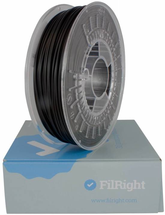 ABS filament - 1.75mm - 1 kg - zwart - FilRight Maker
