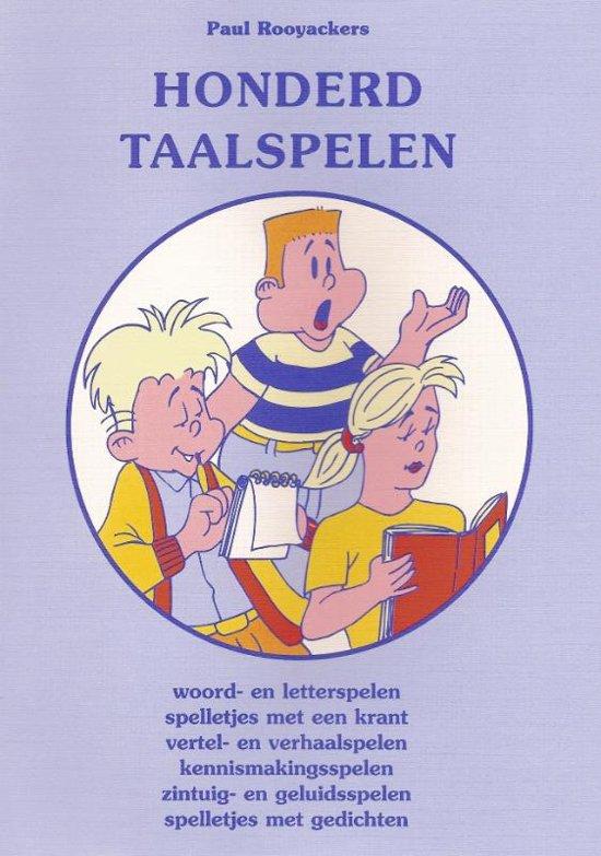 Educatieve spelenboeken 50 Honderd taalspelen