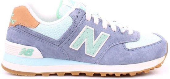new balance 574 dames blauw