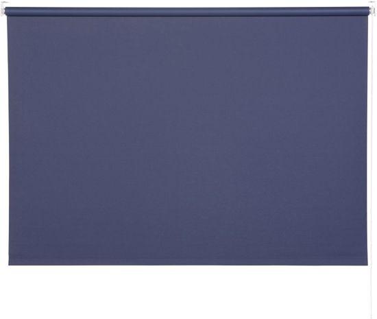Woonexpress rolgordijn 60x195 UNI BLACKOUT - Blauw