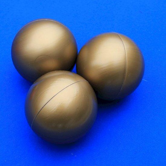 Ballenbakballen 70mm Goud - 1000 stuks