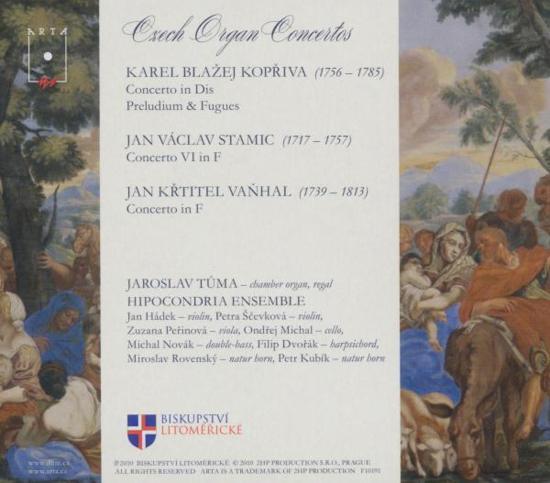 Musicae Fons Aureus, Czech Organ Ctos Of The 18Th