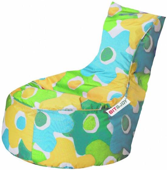 Zitzak Sit En Joy Blauw.Sit And Joy Balina Zitzak Groen
