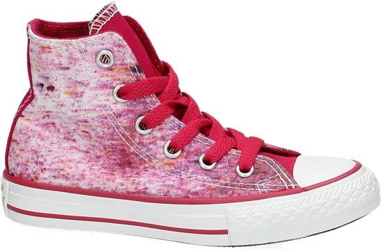 7f45b9aa112 bol.com | Converse All Star Hi sneakers - Kinderen - Roze - Maat 27