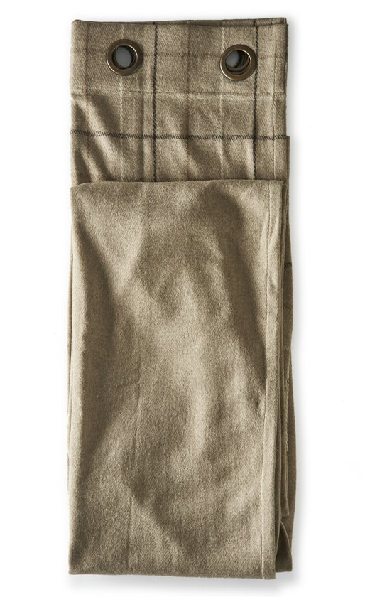 Bolcom Rivièra Maison Classic Pleat Curtain Beige 140x270