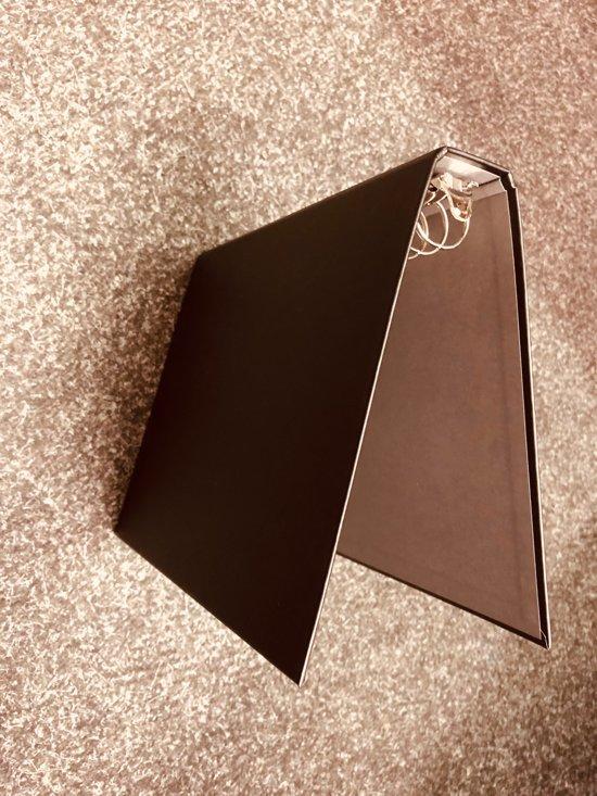 ringband Kangaro A5 17-rings 19mm O-mechaniek zwart