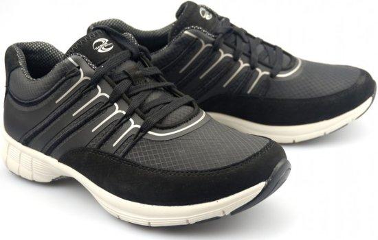 Gabor sport series 74.352.17 zwart mesh/nubuck sneaker  zwart  - Maat 40.5