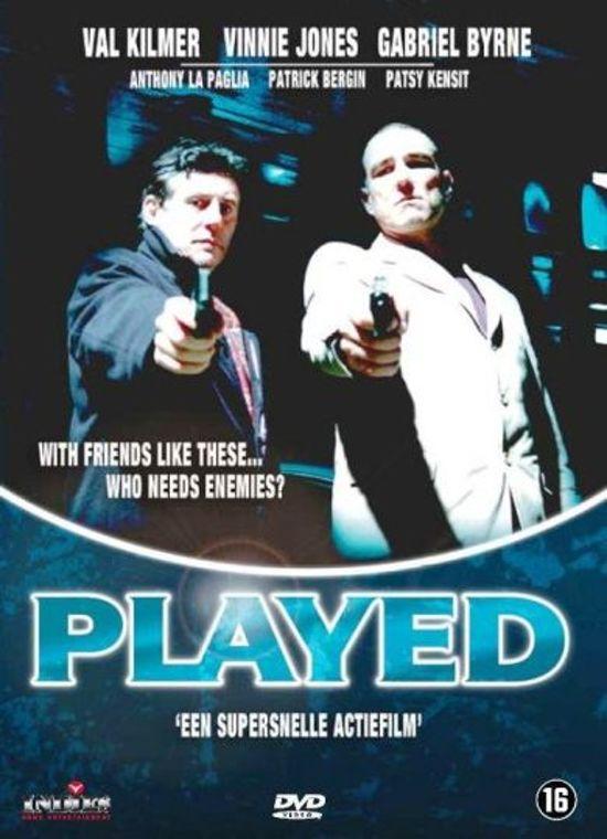 Cover van de film 'Played'
