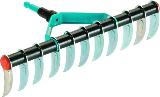 GARDENA Combisysteem verticuteerhark - éénzijdig - metaal - werkbreedte 35 cm - aanbevolen steellengte 180 cm - metaal