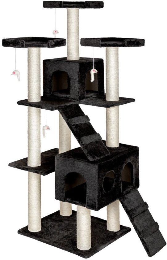 Krabpaal Knuti, zwart 186 cm hoog 400560