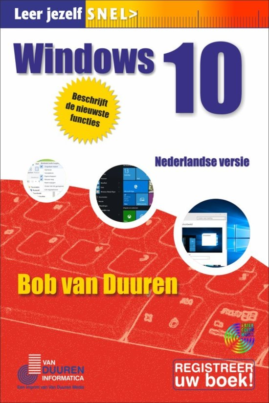 Leer jezelf SNEL - Windows 10