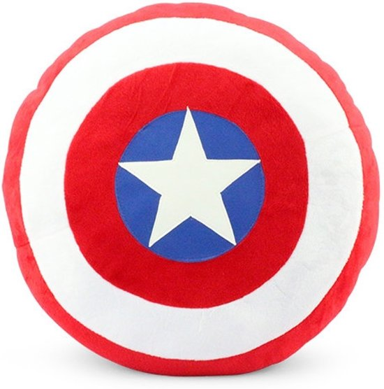 marvel avengers pluche knuffel kussen captain america schild. Black Bedroom Furniture Sets. Home Design Ideas