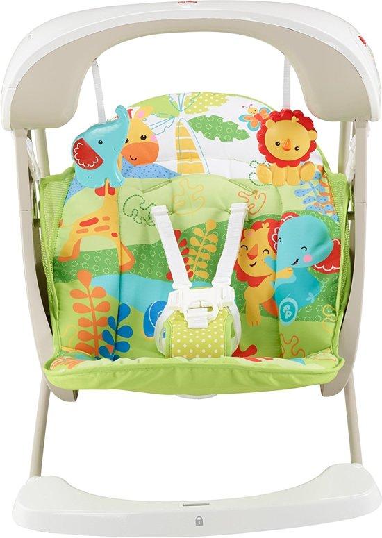 Hedendaags bol.com | Mattel Fisher- Price - 2 in 1 Baby Schommelstoel Compact UV-75