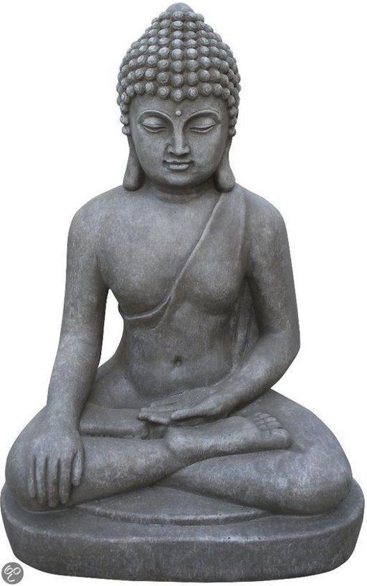 Stone-Lite Deco Tuinbeeld Boeddha 401M