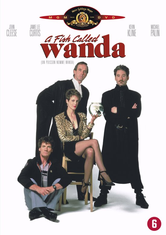 DVD cover van A Fish Called Wanda