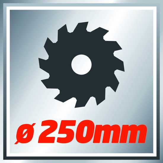 Einhell TC-MS 2513 L Kap- en Verstekzaag (Afkortzaag / Trekzaag) - 1600 W - Zaagblad: Ø250 x Ø30 mm / 48 T - Uitschuifbare werkstuksteunen - Softstart - Inclusief laser, LED-verlichting, stofzak en transportvergrendeling