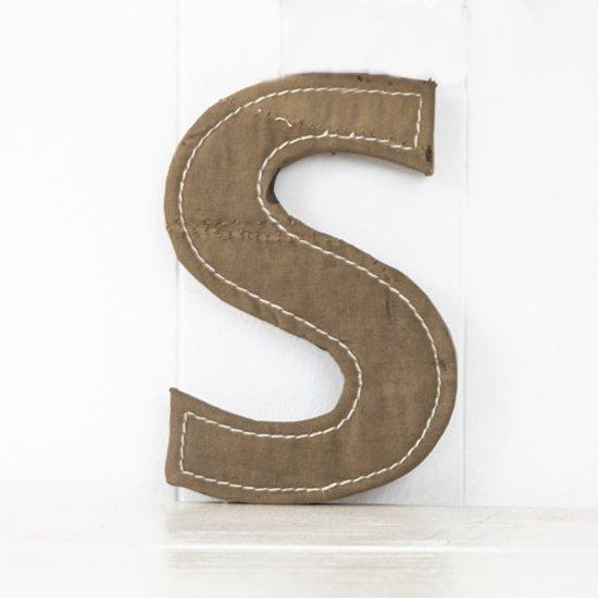 Wand En Muurdecoratie.Muurletter S Bruin Stoere Letters Wand Muurdecoratie