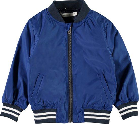 Name it Jongens Zomerjas - Blauw - maat 98