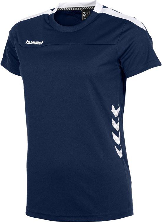 DamesNavy Sportshirt DamesNavy white Valencia Valencia Hummel white Sportshirt Hummel Hummel tshrQdC
