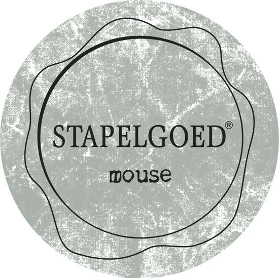 Stapelgoed - Muurverf extra mat - Mouse - Grijs - 2,5L