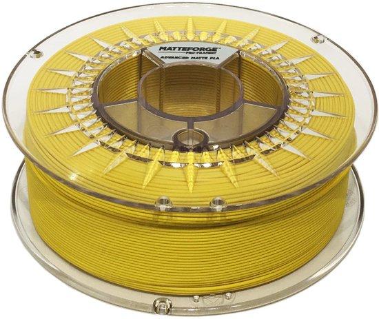 Matteforge PRO PLA sterk als ABS - 1 kg (1.75 mm) - GEEL