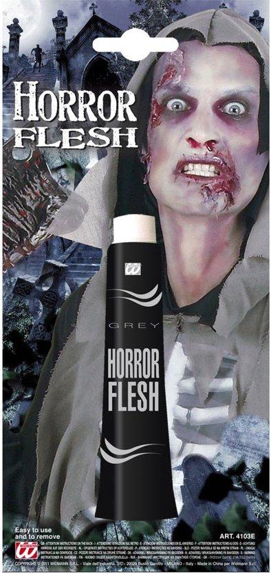 Halloween Zombie Schmink.Schmink Grijze Tint Halloween Make Up Schmink