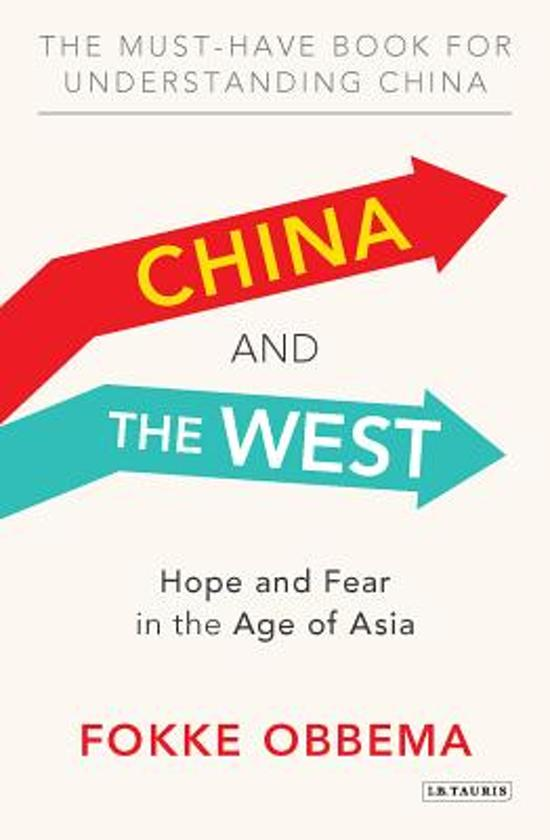 Boek cover China and the West van Fokke Obbema (Paperback)