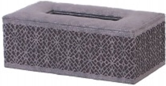 Bol.com tissue box odessa zilver