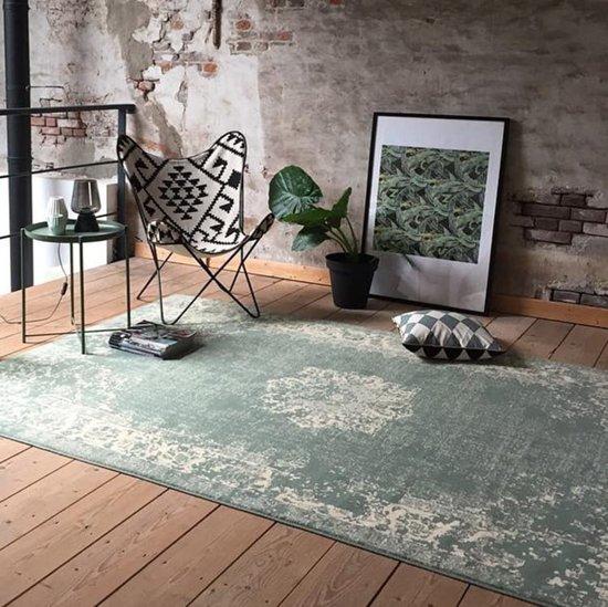 Vintage vloerkleed - Wonder groen 70 x 140cm
