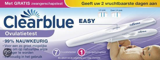 Clearblue Digital - 7 stuks - Ovulatietest