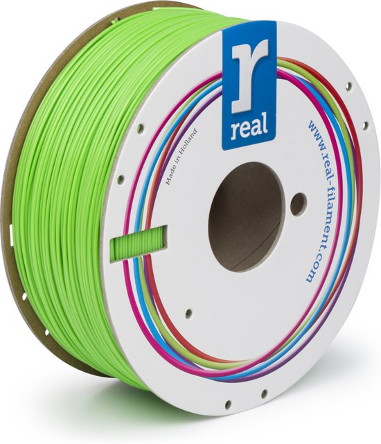 REAL Filament ABS nucleair groen 1.75mm (1kg)