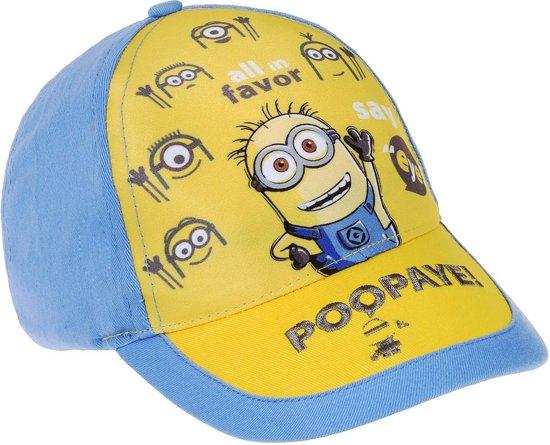 Minions-Honkbal-pet-blauw-maat-52