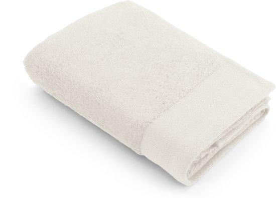 2 Walra Baddoeken (60x110cm) en 2 washandjes Soft Cotton - kiezel