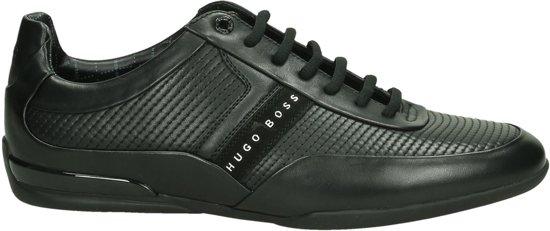 Occasionnels Patron De Hugo Boss Noir Chaussures De Sport Avec Les Hommes Lacer j0Qle6o