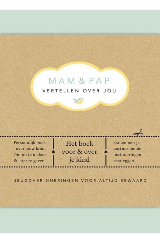Boek cover Vertel eens - Mam & pap vertellen over jou van Elma van Vliet (Hardcover)