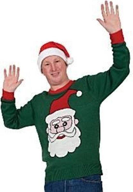 Kersttrui Kerstman.Bol Com Kersttrui Kerstman Groen Maat Medium Merkloos Speelgoed