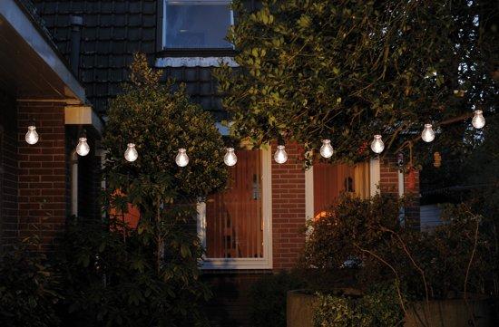 Partyverlichting / feestverlichting - CBD - 10 LED - Warm wit - 10m