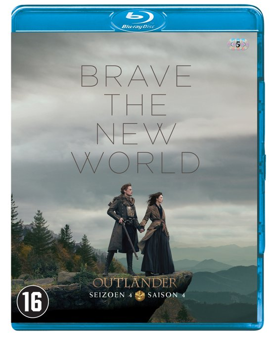 DVD cover van Outlander - Seizoen 4 (Blu-ray)