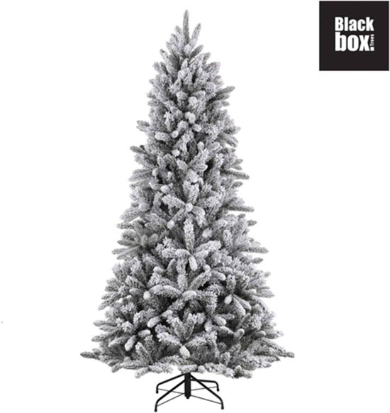 Black Box kunstkerstboom snowdon maat in cm: 215 x 127 groen