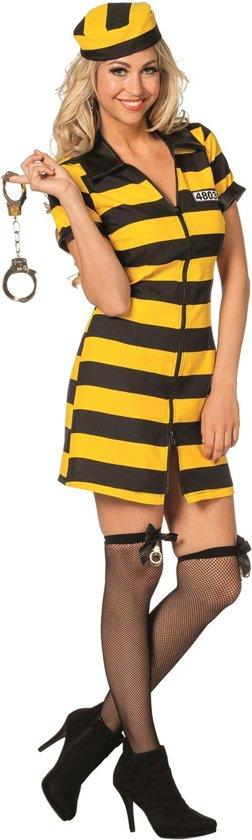 Boevenjurk zwart/geel - Maat 38